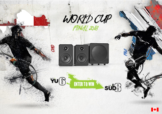 Kanto Audio's World Cup Giveaway
