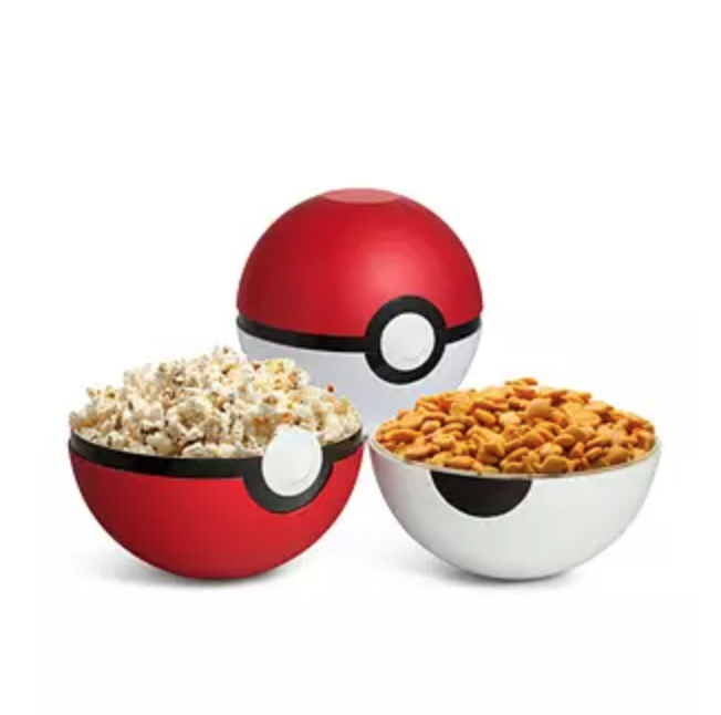 Poke Ball Serving Bowls from Think Geek
