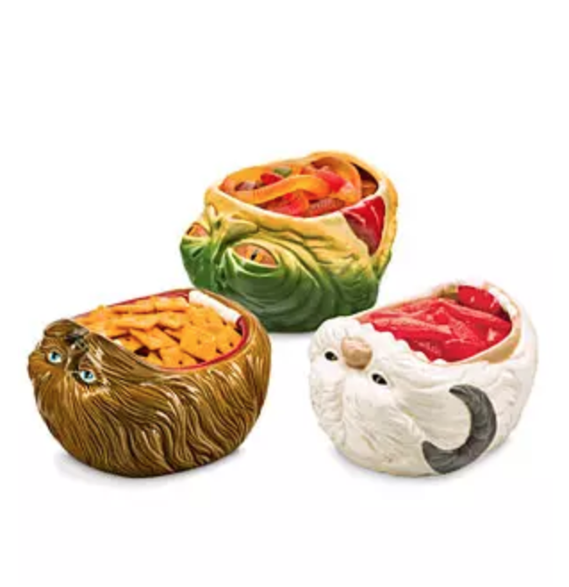 Star Wars Snack Bowls from ThinkGeek